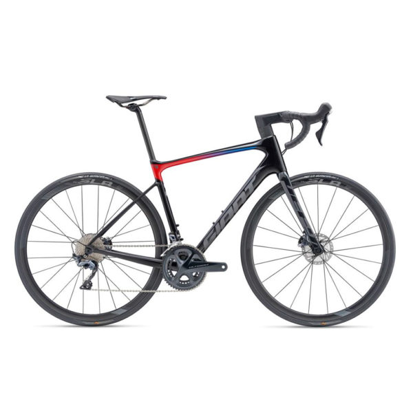 2019 GIANT DEFY ADVANCED PRO 1 TALLA M NEGRO/GRIS/ROJO