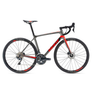2019 GIANT TCR ADVANCED 1 DISC TALLA M NEGRO/GRIS OSCURO/ROJO