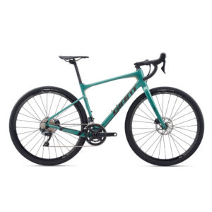 2020 GIANT REVOLT ADVANCED 0 TALLA M VERDE AZULADO/NEGRO
